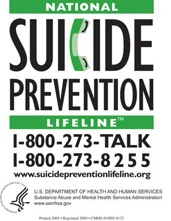 Suicide Prev Lifeline English